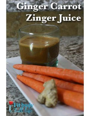 Ginger Carrot Zinger Juice Recipe