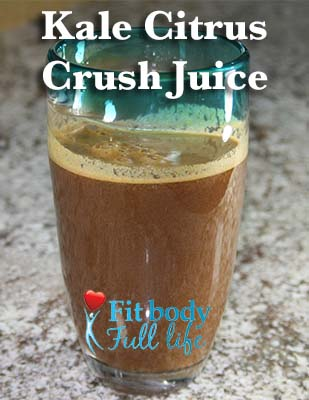 Juice Recipe: Kale Citrus Crush