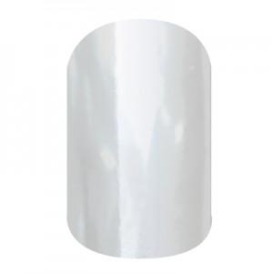 Metallic Chrome Silver - SD03 - Jamberry Nail Wraps