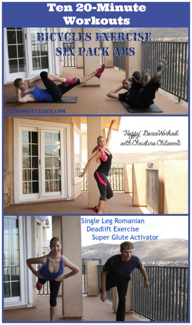 Ten 20-Minute Workouts