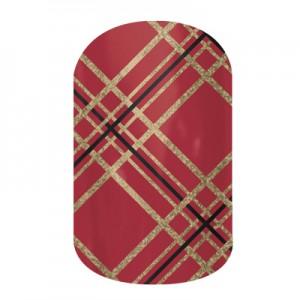 Tinsel Town - B037 - Jamberry Nail Wraps
