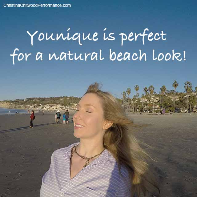 Younique is Perfect for a Natural Beach Look - Christina Chitwood