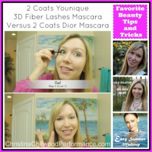Favorite Beauty Tips and Tricks - Christina Chitwood Performance