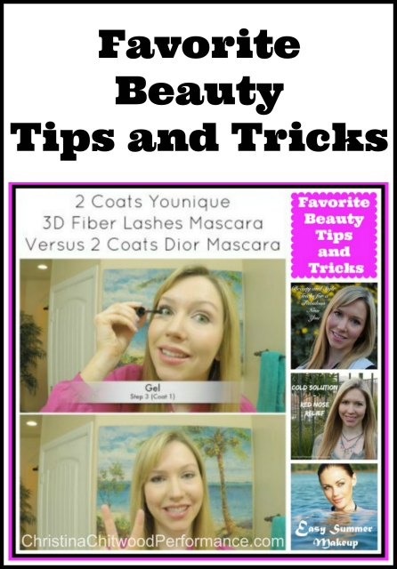 Favorite Beauty Tips and Tricks