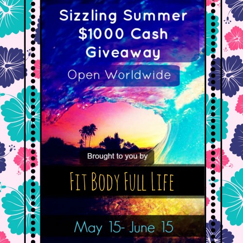 2 $500 Cash Prizes and 1 $250 Cash Prize, WW 6/15 - Fit Body Full Life
