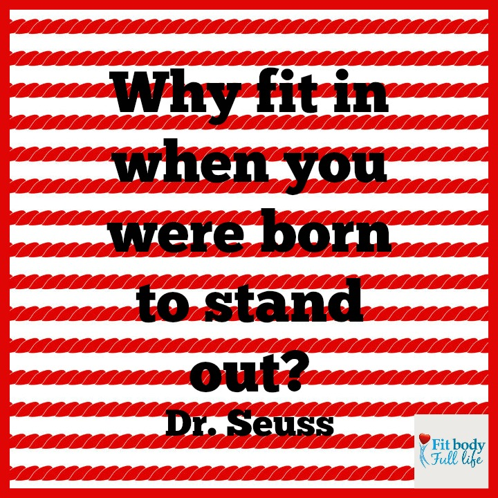 Free Printable - Born to Stand Out Word Art