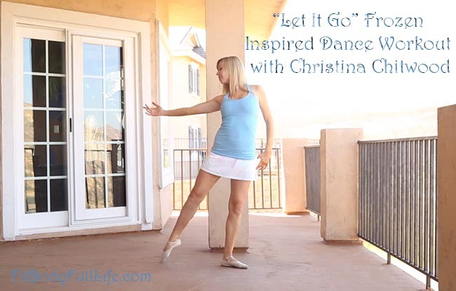 """Let It Go"" Frozen Inspired Dance Workout with Christina Chitwood"
