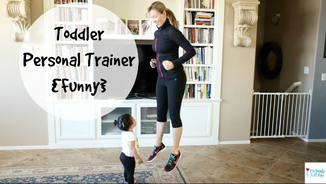 Toddler Personal Trainer {Funny} - Horizontal