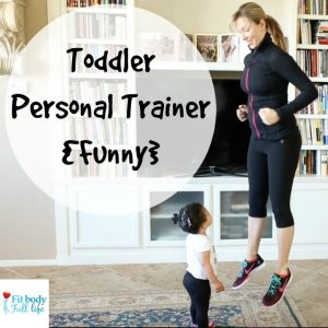 Toddler Personal Trainer {Funny} - Square