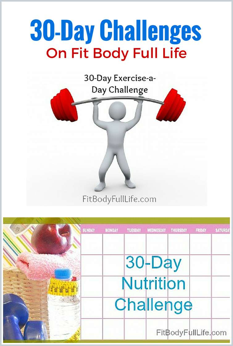30-Day Challenges at Fit Body Full Life
