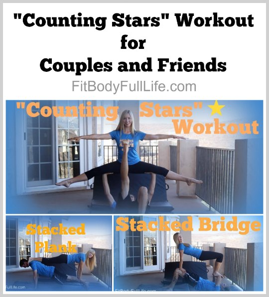 """Counting Stars"" Workout for Couples and Friends"