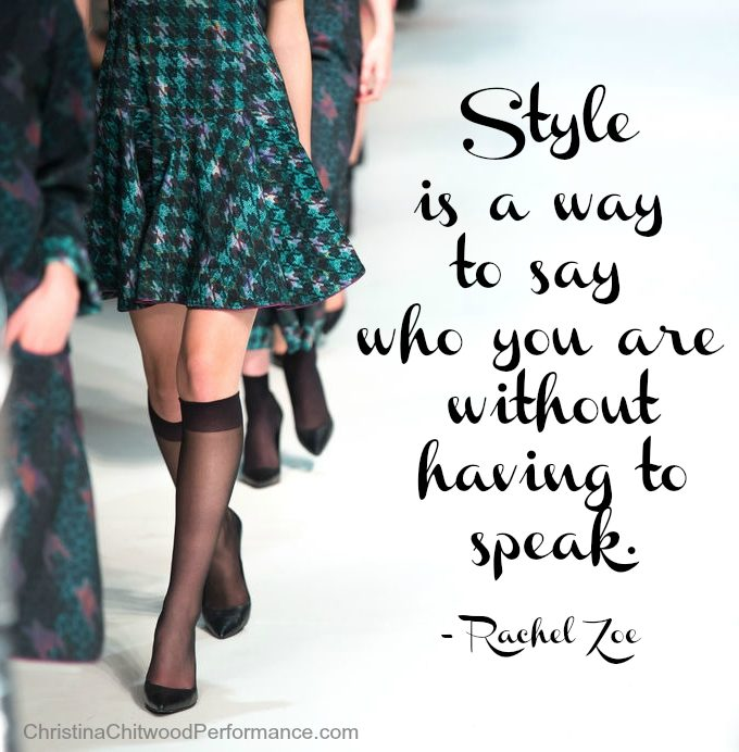 "Free Printable - ""Style is a Way to Say Who You Are"" Word Art"