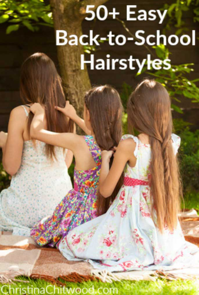 50+ Easy Back-to-School Hairstyles