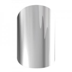 Metallic Chrome Silver Jamberry Nail Wraps