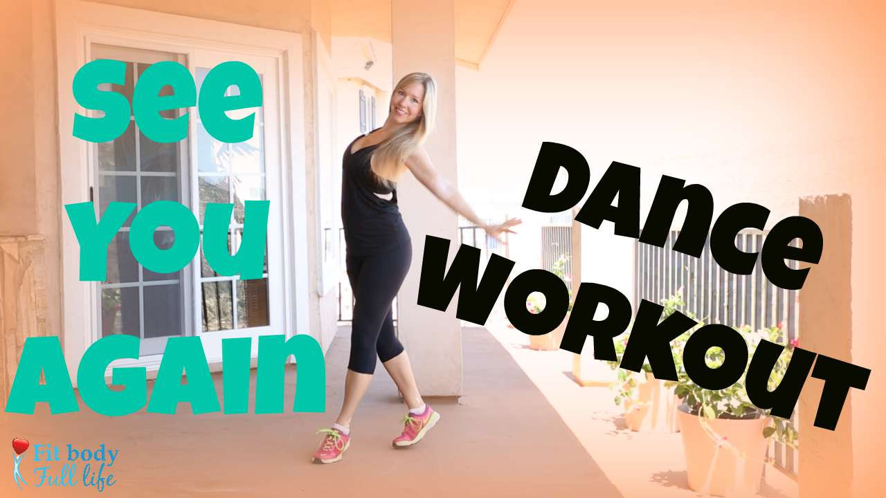 """See You Again"" Dance Workout - Dance Fitness with Christina"