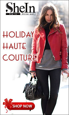 Get your Holiday Haute Couture at affordable prices at SheIn.com