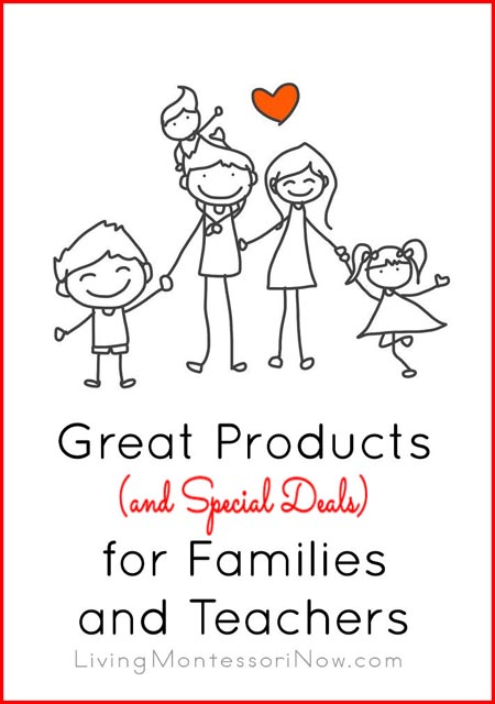 Great Products and Special Deals for Families and Teachers