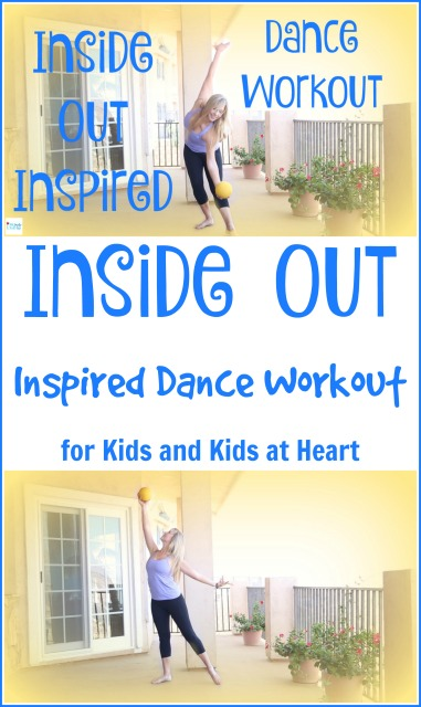 Inside Out Inspired Dance Workout for Kids and Kids at Heart