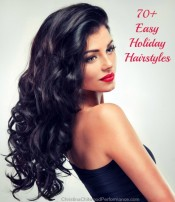 70+ Easy Holiday Hairstyles