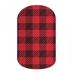 Friday Flannel Jamberry Nail Wraps