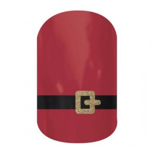 Santa Suit Jamberry Nail Wraps