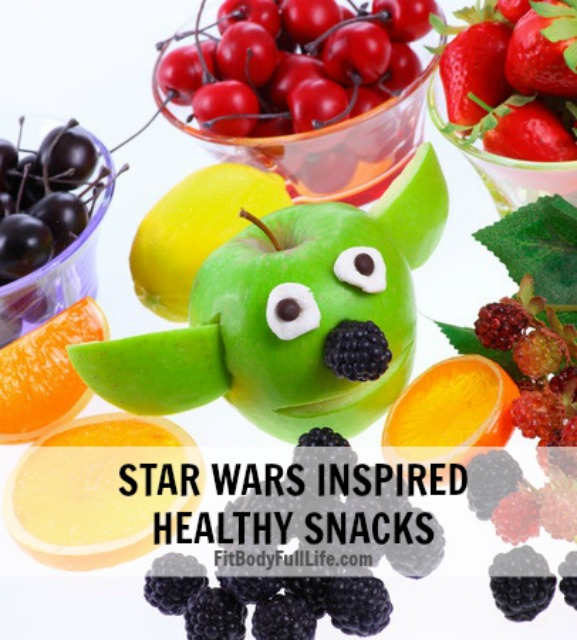 Star Wars Inspired Healthy Snacks