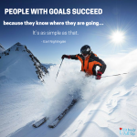 """Free Printable – """"People With Goals Succeed"""" Word Art"""