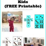 Fish Swimming Exercise for Kids {Free Printable}
