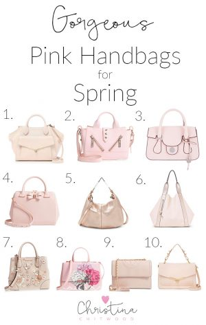 Gorgeous Pink Handbags for Spring