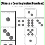 FREE Recycling Crushes Dice Printable {Fitness & Counting Instant Download}