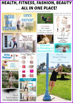 HEALTH, FITNESS, FASHION, BEAUTY … ALL IN ONE PLACE!