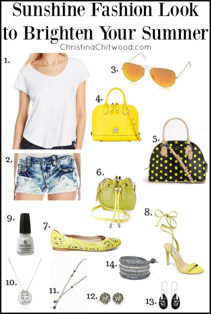 Sunshine Fashion Look to Brighten Your Summer