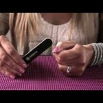 Filing Technique: Straight for Applying Jamberry Nail Wraps