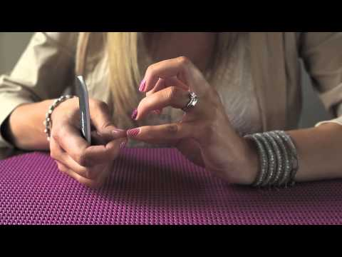 Filing Technique: Angled for Applying Jamberry Nail Wraps