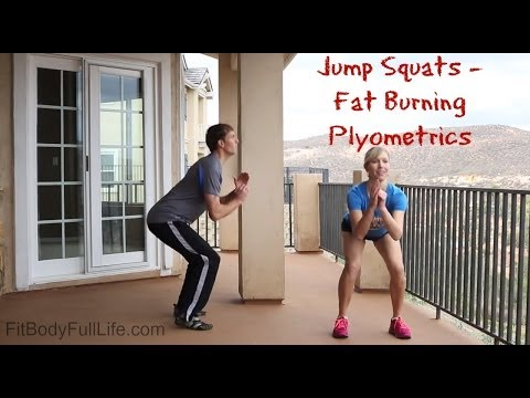 Jump Squats – Fat Burning Plyometrics
