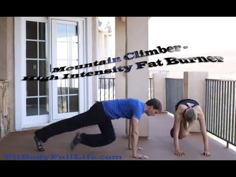 Mountain Climber – High Intensity Fat Burner