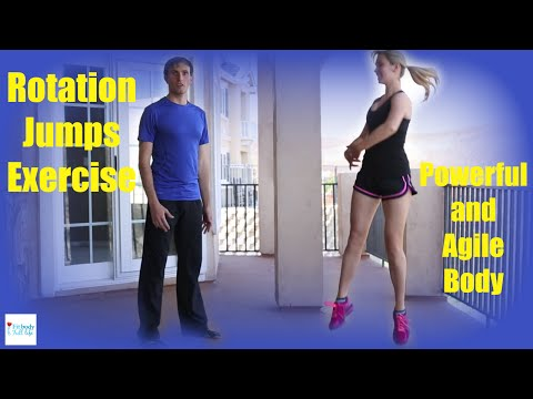 Rotation Jumps – Powerful and Agile Body