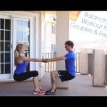 Balancing Workout for Couples & Friends