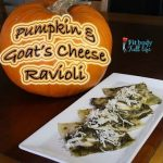 Simple Pumpkin & Goat's Cheese Ravioli Recipe
