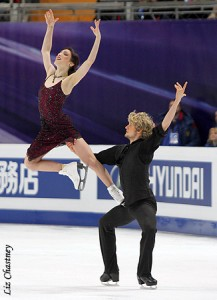 Inspiration from the 2011 Ice Dance World Champions, Meryl Davis and Charlie White