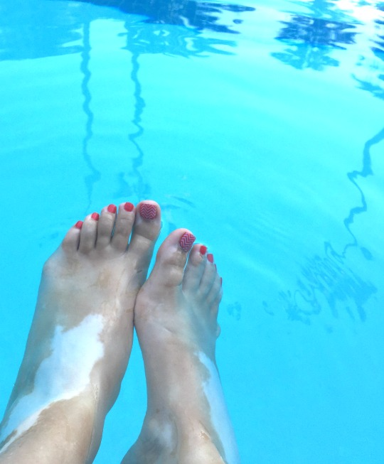 Pedicures with Jamberry Nail Wraps - Christina Chitwood