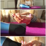 Heating Jamberry Nail Wraps Using a Hair Dryer