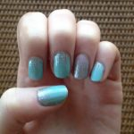 Jamberry Nail Wrap Styles – Iced with Fade In