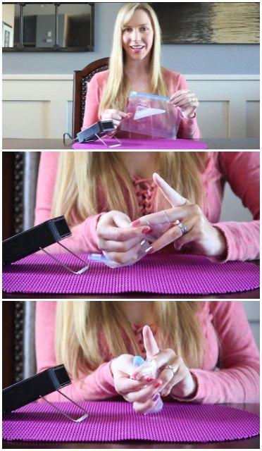 Jamberry Nail Wraps: Baggie Method