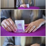 Removing Jamberry Nail Wraps: Alcohol Wipe