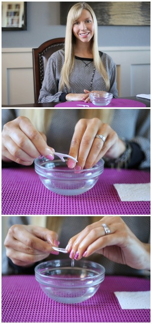 Removing Jamberry Nail Wraps: Flosser Technique