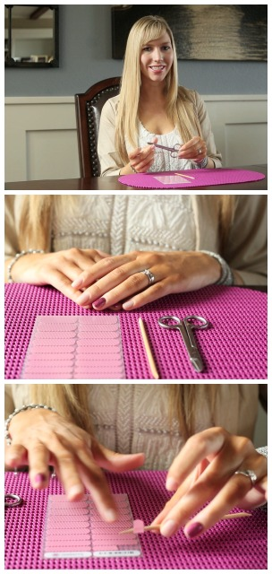 Removing and Cutting Jamberry Nail Wraps