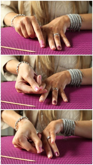 The Pressing Technique for Applying Jamberry Nail Wraps