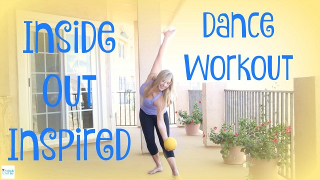 Inside Out Inspired Dance Workout for Kids and Kids at Heart Video