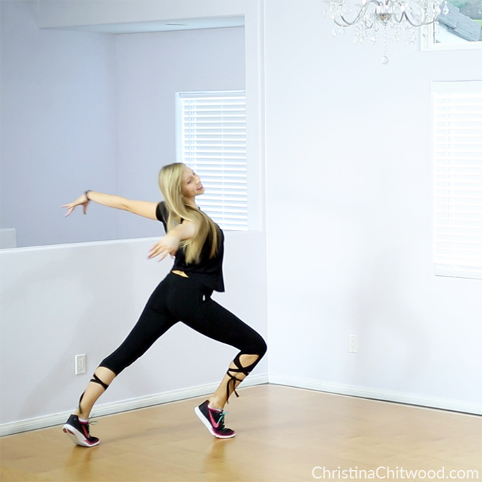 Balletic Warrior Dance Workout {Dance Fitness Tutorial}